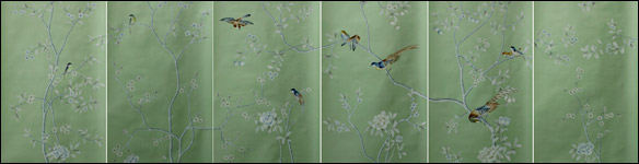 G & W Collections: Chinoiserie Papers - Summer Palace (panels)