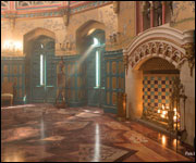 G & W Collections: Summer Palace and Baltazar Installation on the set of NBC's Dracula