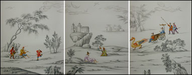 G & W Collections: Chinoiserie Papers - Hapsburg (panels)
