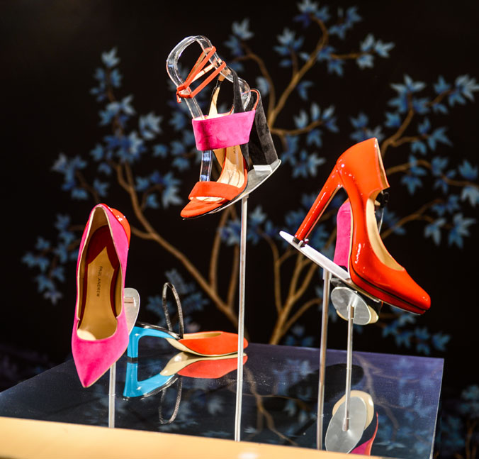 Paul Andrew's shoes, spring collection 2016